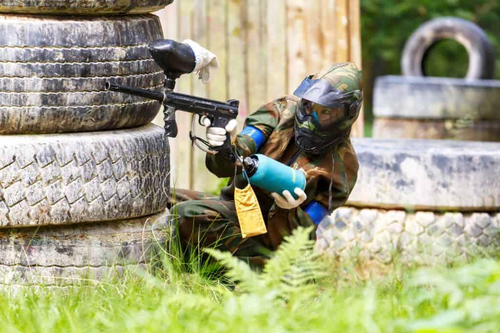beginner paintball guns